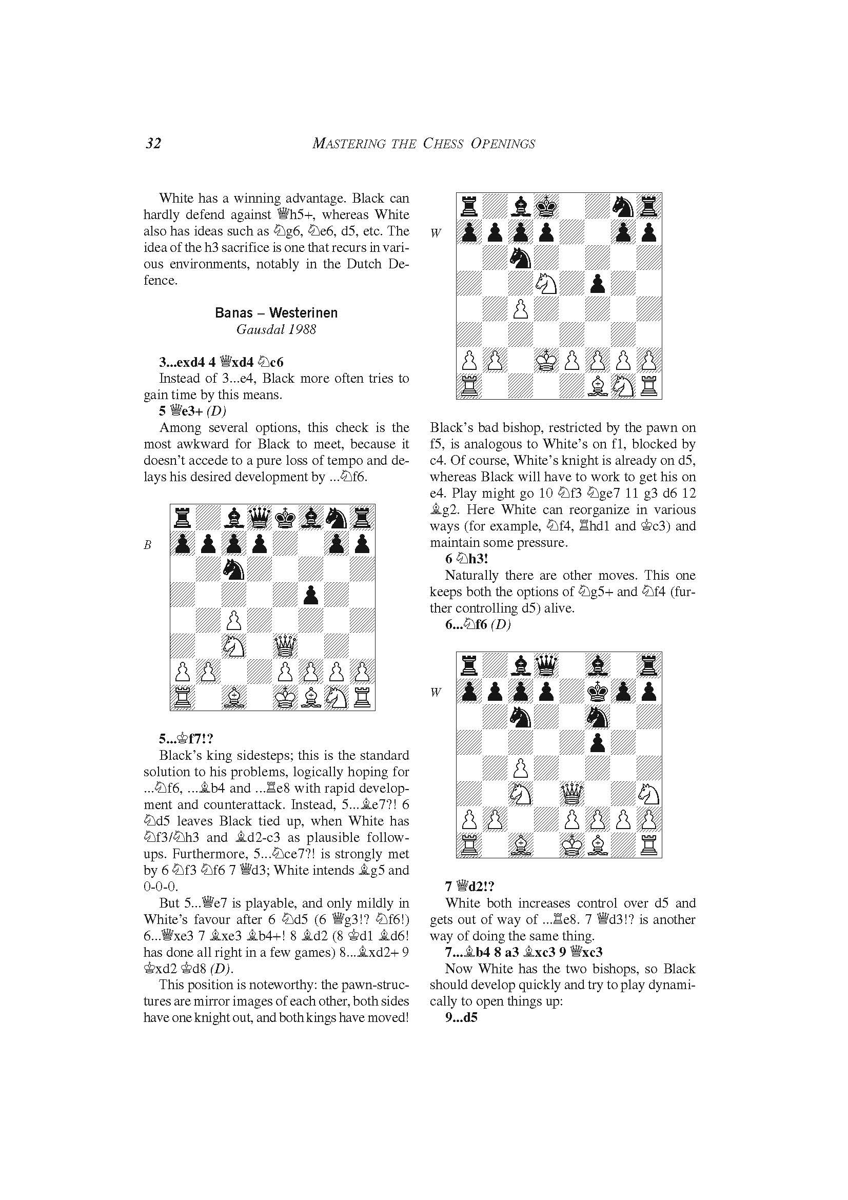 Mastering the Chess Openings vol  3