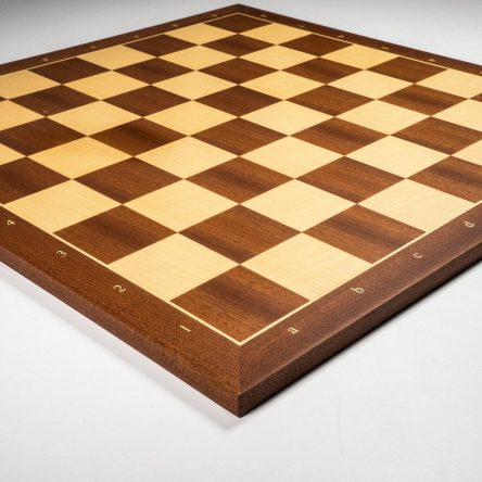 Sjakkbrett i mahogni og lønn – spansk toppkvalitet!