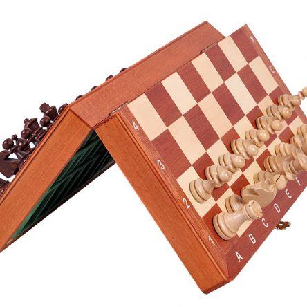 Magnetisk sjakkbrett (stort, 27cm)